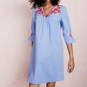 Madewell Embroidered Breeze Dress Medium